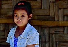 Laos-village along Nam Ou river (venturidonatella) Tags: portrait people look river children persona nikon asia village emotion persone sguardo laos ritratto gentes emozioni namou namouriver nikond300