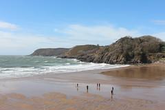 Wales - Gower Peninsula (Sarah Blinco & Cooper Dawson) Tags: cliff west swansea wales bay head walk cardiff cliffs le glamorgan gower mumbles worms parc rhossili breos