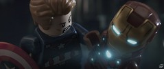 I'M SORRY TONY (fullnilson) Tags: man america photography war iron lego tony civil cap captain marvel stark cpt 2016 legography legomarvel fullnilson