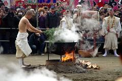Mt. Takao Fire walking festival, Japan  (runslikethewind83) Tags: life people man men festival japan fire tokyo asia pentax flames culture   tradition matsuri mttakao 2016
