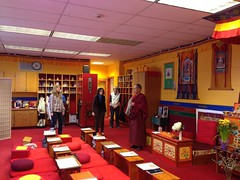 Lama Tobden gave a day workshop on Qi Gong