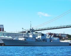 HMCS ST. JOHN'S (Roger Litwiller -Author/Artist) Tags: st navy royal canadian collection roger halifax johns hmcs rcn litwiller