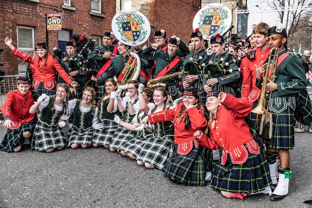 SHORECREST HIGH SCHOOL [ST. PATRICK'S PARADE IN DUBLIN 2016]-112231
