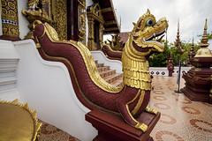 Wat Monthian. (Hank888) Tags: thailand chiangmai wat hank888 watmonthian