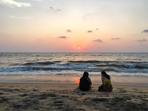 Sunset at Negombo Beach  #negombo #srilanka #wanderjinn #wanderlust