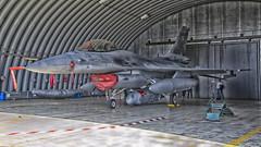 Falcon in nest (Karpik :)) Tags: fighter f16 hdr nikkon lockheedmartin fighterjet militaryjet 4075 fighteraircraft aviationart polishairforce militaryfighteraircraft siypowietrzne eplk d3100
