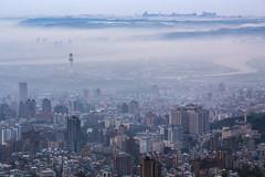 Beitou, Taipei, Taiwan _IMG_8041 (Len) Tags: urban mist fog cityscape taiwan taipei   tianmu   6d 70300 beitou       ef70300mmf456isusm