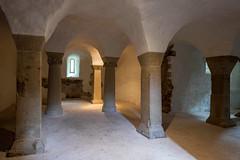 Krypta (Fay2603) Tags: old light licht shadows kirche indoor architektur bogen sule gewlbe krypta