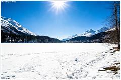 St. Moritz - Lago ghiacciato (mauro.cagna) Tags: st nikon tokina neve alta moritz montagna ghiaccio engadina laghi grandandolo