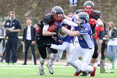"GFL Juniors Dortmund Giants vs. Düsseldorf Panthers 09.04.2016 008.jpg • <a style=""font-size:0.8em;"" href=""http://www.flickr.com/photos/64442770@N03/26057844940/"" target=""_blank"">View on Flickr</a>"