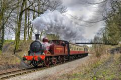 Met No. 1. Through the Golden Valley .. (Alan Burkwood) Tags: 1 no steam goldenvalley locomotive met midlandrailway l44