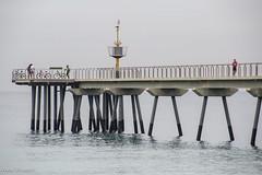 pont petroli-1284 (nuri_bri) Tags: barcelona puente mar spain mediterraneo playa pont brigde platja badalona mediterrani barcelons costabarcelona pontdelptrolibadalona