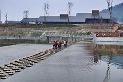 Walking on water in Chongzhou - Gr p vannet i Chongzhou (jonarnefoss2013) Tags: china chengdu sichuan kina nikon1 chongzhou