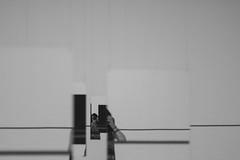 Self-Portrait (Camila Iquiene) Tags: blackandwhite selfportrait lines linhas espelho mirror autoretrato pretoebranco   inhotim edwardkrasinski