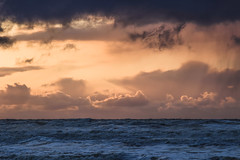 Ameland (MJ Klaver) Tags: sunset sea sky clouds wadden nederland m42 ameland kust sonnar carlzeissjena oldlens ausjena carlzeissjenasonnar135mmf35mcred