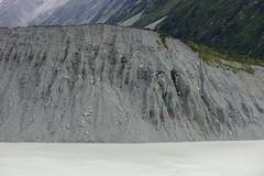Moraine wall, Mueller Glacier, Aoraki Mt Cook, NZ (jozioau) Tags: wall moraine glacial sal70200g