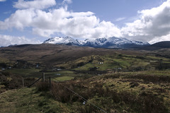The Cuillin Hills, Isle of Skye (agauld) Tags: travel red snow black mountains skye canon landscape photography scotland highlands walk rocky scottish glen trail cuillins isle cuillinhills the cuillin sligachan blackcuillin redcuillin theisleofskye canon60d