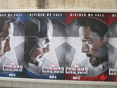 Captain America Civil War Sidewalk Billboard 2016 ADs 8152 (Brechtbug) Tags: world street new york city nyc chris winter two 3 america ads movie subway poster soldier book three evans war theater comic sam sebastian theatre near steve entrance super joe ironman tony billboard lobby stan sidewalk v civil ii ave captain hero falcon anthony billboards wilson shield vs rogers marvel stark 7th barnes bucky russo the 2016 36th standee 04142016
