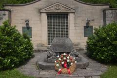 Memorial to fallen German soldiers in WWI (quinet) Tags: wwi worldwarone 1914 2012 denkmal mmorial castleroad burgenstrase germanymemorial