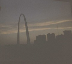 St. Louis Arch (poundsdwayne47) Tags: sunset memorial downtown stlouis national gatewayarch jefferson 1970 1970s expansion