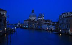 Blue Venice (Atilla2008) Tags: blue venice sunset italy wow canal nikon bluehour grandcanal accademia d90
