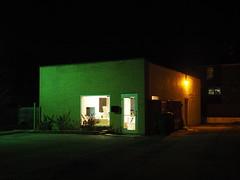 Westmont, Illinois Building (mattheuxphoto) Tags: nightphotography dark illinois nightshot buidling westmont nightstreetphotography westmontillinois panasonic20mm