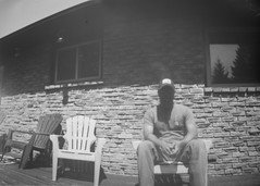 Pinhole Test Shots (KevinCollins00) Tags: blackandwhite bw analog photography can pinhole ilford obscura photopaper