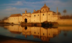 Monasterio de la Cartuja, golden hour. (poljacek (+1,5M visits, Thanks so much!)) Tags: reflection atardecer reflex sevilla reflejo monasterio cartuja odbicie