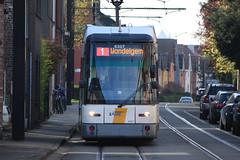 Hermelijn 6307, Dikkelindestraat, Wondelgem (Tetramesh) Tags: belgium belgique belgie belgi tram ghent gent gand flanders belgien belgio delijn blgica gwladbelg vlaanderen oostvlaanderen belgia leiestreek blgica eastflanders belga belika 6307 belgicko beija belgija belgjik belju blxica anbheilg  tetramesh b    ubelgiji