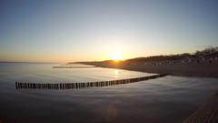 sunrise graal-mritz (jakobstitz) Tags: sea sun beach strand sunrise germany deutschland baltic hero sonnenaufgang ostsee mritz seebrcke graal graalmritz gopro blackedition hero4black