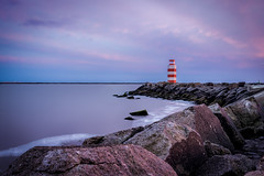 Lighthouse (mcalma68) Tags: longexposure lighthouse seascape clouds pier waterfront