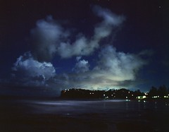 Clouds over Newport Headland [Mamiya 645 MF] (Aviator195) Tags: ocean longexposure nightphotography sea moon mamiya film beach night clouds mediumformat stars interesting 645 nightscape kodak sydney australia newportbeach ishootfilm 120film moonlit newport beaches moonlight mamiya645 headland kodakfilm northernbeaches ektar beachscape filmphotography mediumformatfilm filmisnotdead kodakektar mamiya6451000s kodakektar100 ektar100 ektarfilm ektar120 120ektar100 kodak120ektar100 120ektat
