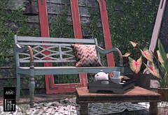 ARIA & The Loft @ Uber (Aria/ Yelo Uriza) Tags: classic garden muffins tea country patio weathered chic uber aria scandinavian theloft shabby ubersl