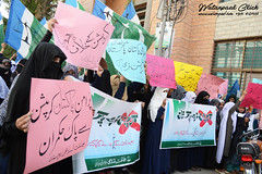 Jamat-e-Islami protest against corruption (watanpaal Photography) Tags: pakistan protest quetta balochistan baluchistan jamateislami protestagainstcorruption jiwomenwing