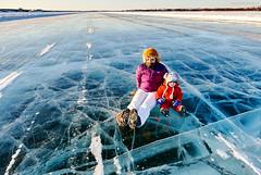 Stephen M. Fochuk Cool Customers (Stephen M. Fochuk) Tags: winter canada cold nwt northwestterritories yellowknife iceroad dettah