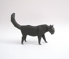 cat 2 (tetsuya gotani) Tags: cat origami chat   tetsuya   gotani