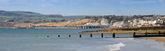 Sandown Bay (sunnyisle) Tags: sea beach water pier sand isle wight sandownbay isleofsandown