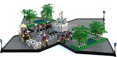 General Breshaun Monument (Kolonialbeamter) Tags: lego bobs moc ldd oleon