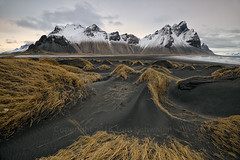 Otherworld (pdxsafariguy) Tags: winter mountain snow beach grass landscape iceland sand europe arctic tomschwabel vestrahorn stokksnes