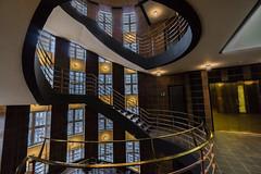 Art of Architecture (*Capture the Moment*) Tags: light architecture stairs licht staircase architektur treppen treppenhaus 2016 sprinkenhof 1018mm sonynex7