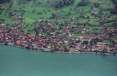 Brienz from Axalp (Jonathan Palfrey) Tags: lake landscape schweiz switzerland photo village brienz negative bern photomatix axalp exposurefusion topazdenoise