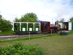 P1050717 (Hampton & Kempton Waterworks Railway.) Tags: loop devon galaday 2015 darent
