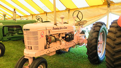 farming for a cure (timp37) Tags: county pink summer tractor for farming july indiana fair porter cure 2015
