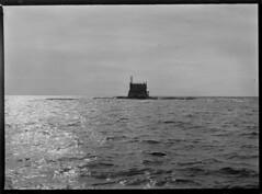 Porkkala; majakka rakenteilla (KansallisarkistoKA) Tags: lighthouse beacon 1920 majakka porkkala