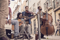 musicians (paulopar.rodrigues) Tags: street people urban music color portugal lisboa band sagradafamlia captureone misicians konika35mm sonya6000