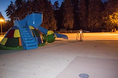 20160430_0059_1 (Bruce McPherson) Tags: canada vancouver dark outdoors spring cool lowlight bc outdoor dusk seawall april englishbay stanleypark waterslide wander secondbeach stanleyparkseawall englishbayseawall brucemcphersonphotography flashinhancedsecondbeachpool