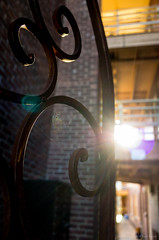 Gateway Home (jetcitygrom) Tags: door sun contrast gate angle wide portal gr ricoh sunstar