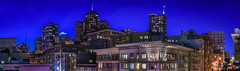 apartments on the hill (pbo31) Tags: sanfrancisco california city windows urban panorama color architecture night dark hotel spring nikon neon apartment huntington over large panoramic structure frenchquarter bayarea april bluehour stitched nobhill intercon stocktonstreet 2016 bushstreet boury pbo31 d810