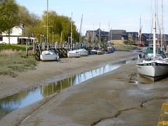 Faversham Creek, Kent, England (PaChambers) Tags: uk england creek port river boats town kent spring europe market britain south ships great historic east april cinque faversham barges 2016