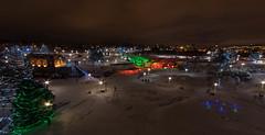 Lights at Falls Park (davehillsd) Tags: christmaslights siouxfalls winterwonderland fallspark fallsatsiouxfalls